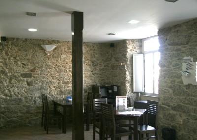 Zona cafetería.