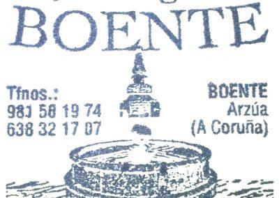 CUÑO Albergue Boente.