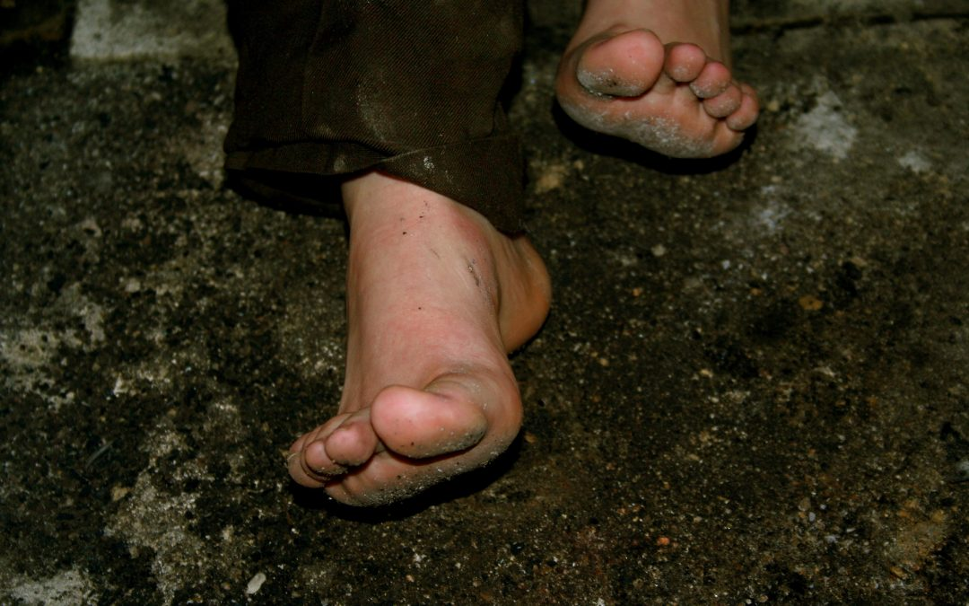 Los pies antes, durante y después del Camino