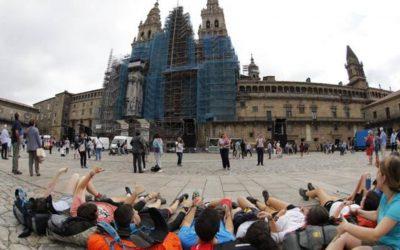 ¿Cuántos peregrinos llegaron a Santiago este año 2017?