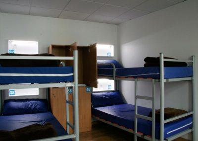 Habitación, albergue Boente en el Camino de Santiago_Camino Francés_00001