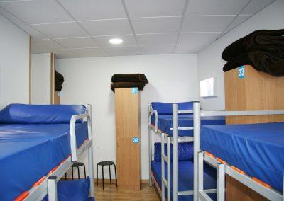 Habitación, albergue Boente en el Camino de Santiago_Camino Francés_00010